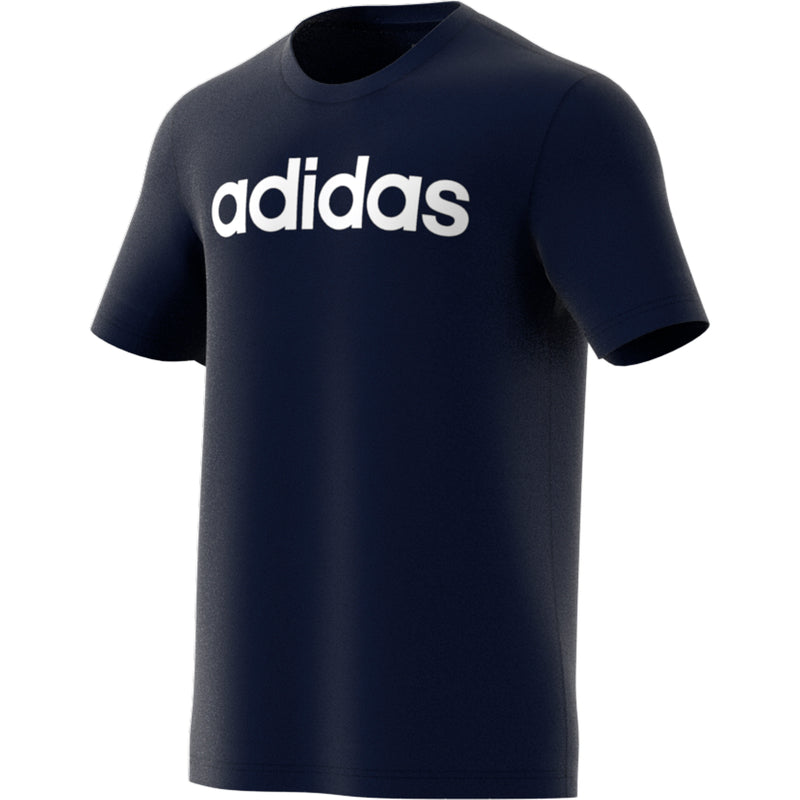 ADIDAS MENS ESSENTIALS LINEAR LOGO TEE