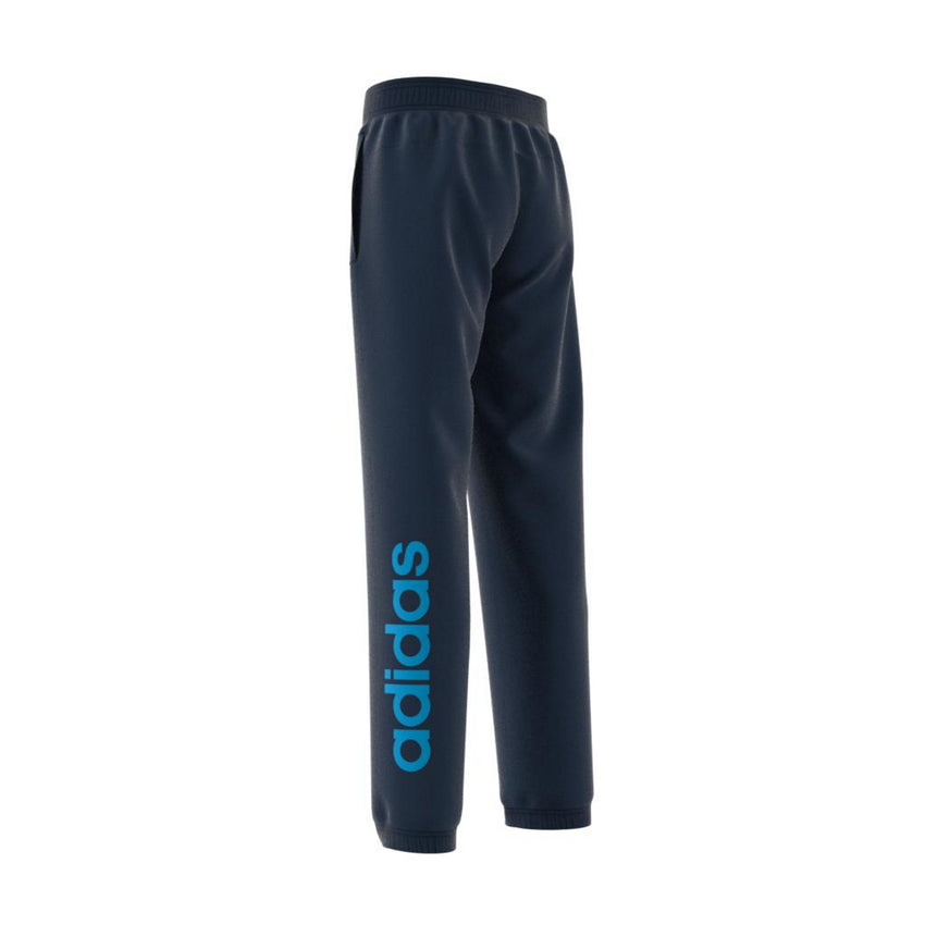 ADIDAS BOYS ESSENTIALS LINEAR PANT COLLEGIATE NAVY/SHOCK CYAN