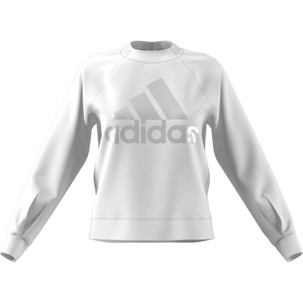ADIDAS WOMENS ID GLORY CREW NECK SWEATSHIRT WHITE