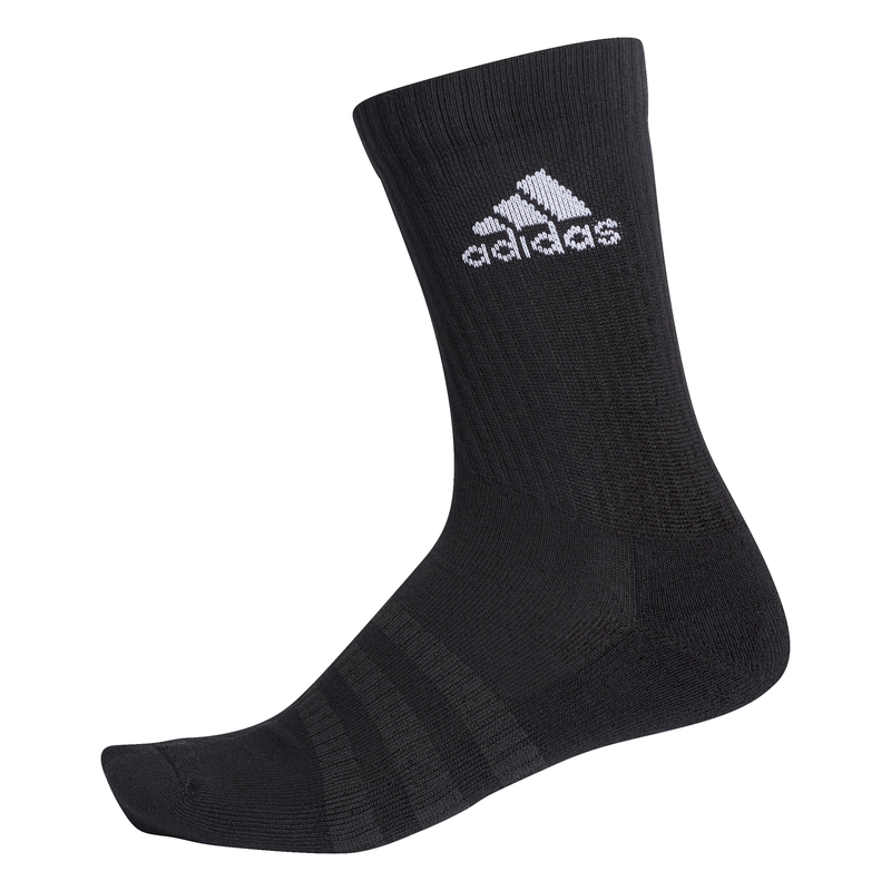 ADIDAS ONE PAIR CUSHIONED CREW SOCKS