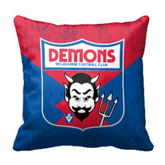 AFL 1ST 18 CUSHION MELBOURNE DEMONS