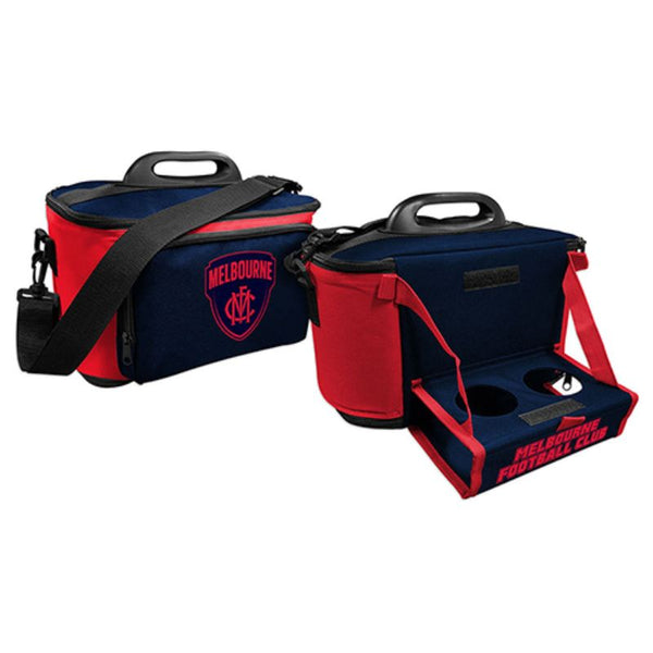 AFL COOLER BAG WITH TRAY MELBOURNE DEMONS