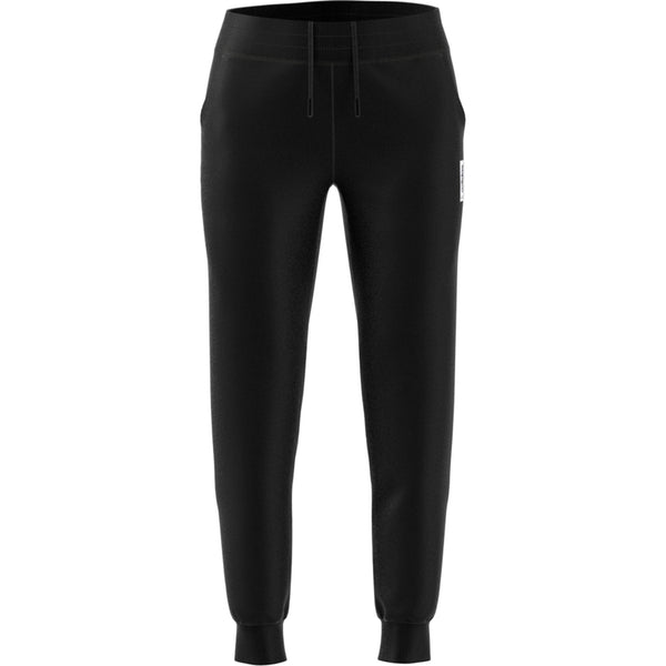 ADIDAS WOMENS BRILLIANT BASICS TRACK PANTS BLACK