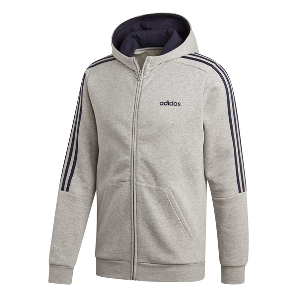 ADIDAS MENS 3-STRIPES TRACK JACKET HOODIE