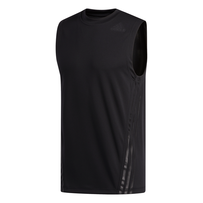 ADIDAS MENS AEROREADY 3-STRIPES SINGLET