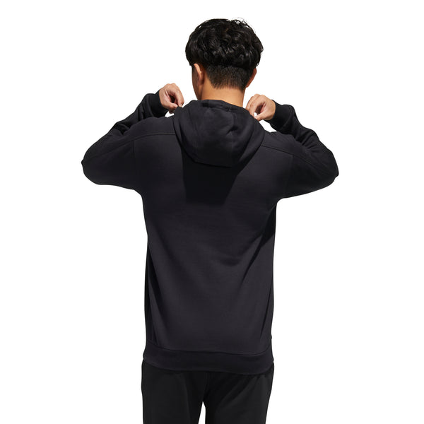 ADIDAS MENS BRILLIANT BASICS HOODED SWEAT