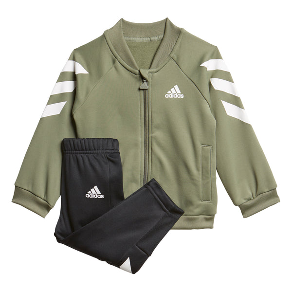 ADIDAS KIDS MINI ME TRACK SUIT JUMPER AND PANTS