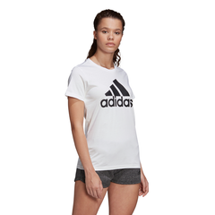 ADIDAS WOMENS MUST HAVES BADGE OF SPORT TEE