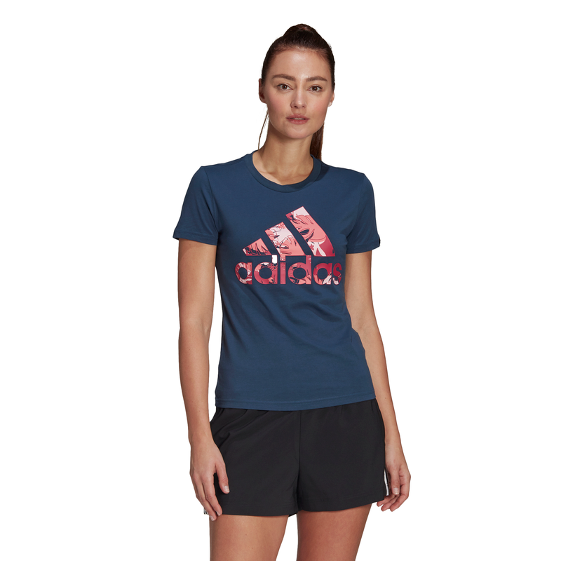 ADIDAS WOMENS TROPICAL TEE