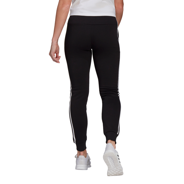 Adidas Womens Essentials Fleece 3-Stripes Pants