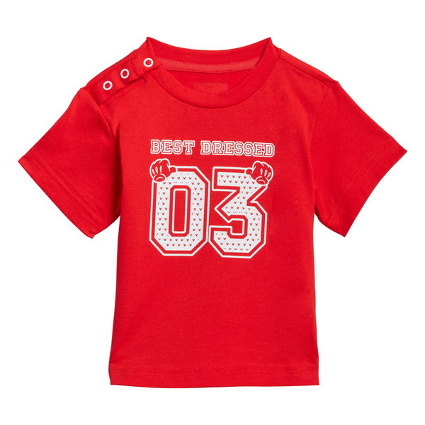 ADIDAS INFANT DISNEY TEE AND SHORT SET