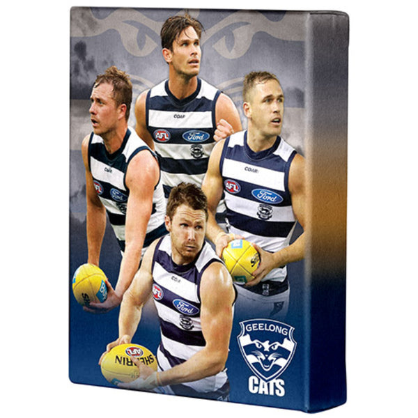 AFL PLAYER CANVAS GEELONG CATS