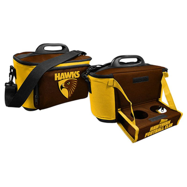 AFL COOLER BAG WITH TRAY HAWTHORN HAWKS