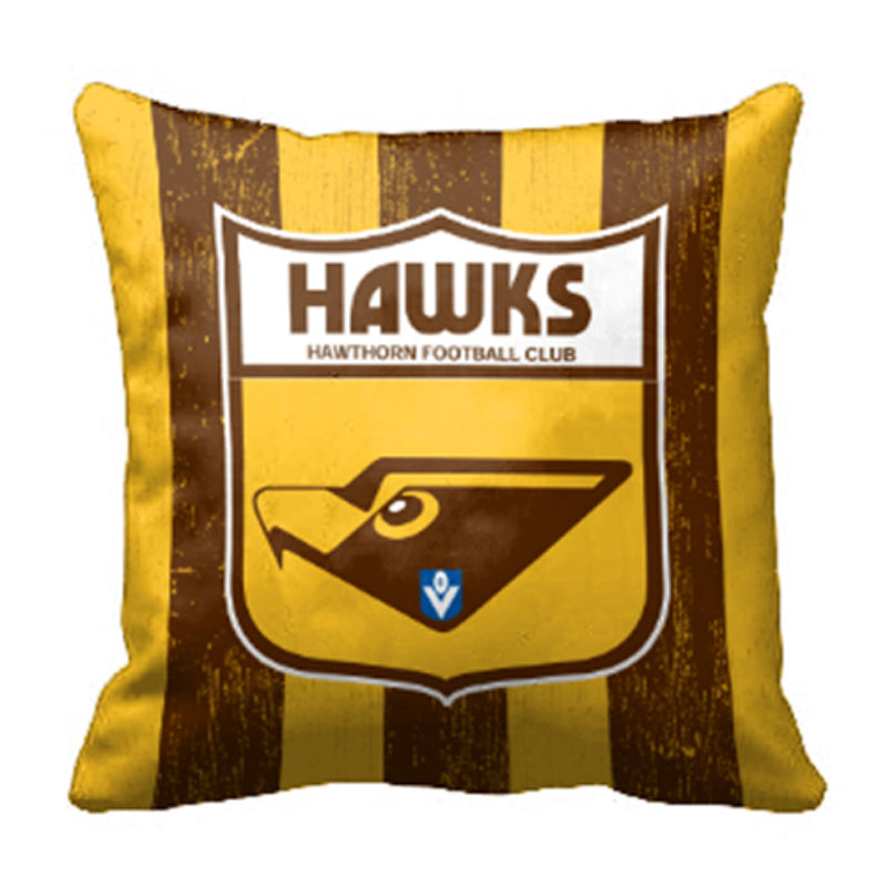 AFL 1ST 18 CUSHION HAWTHORN HAWKS