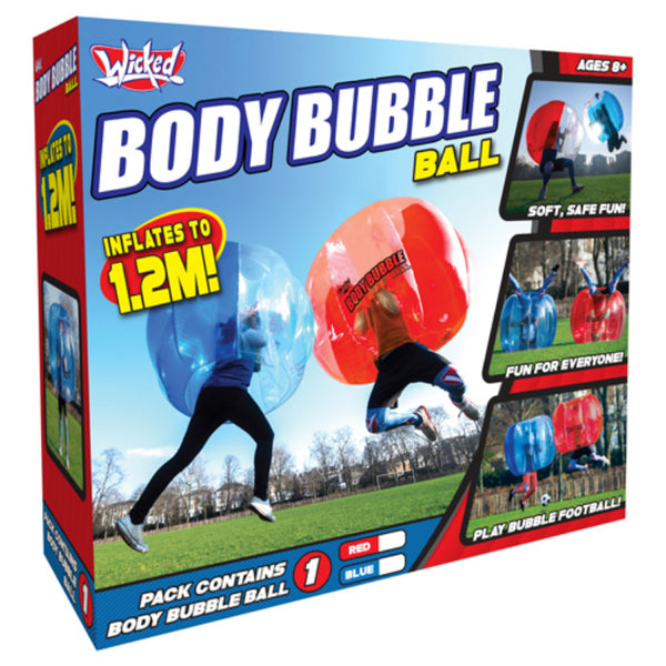 WICKED BODY BUBBLE BALL BLUE AND RED