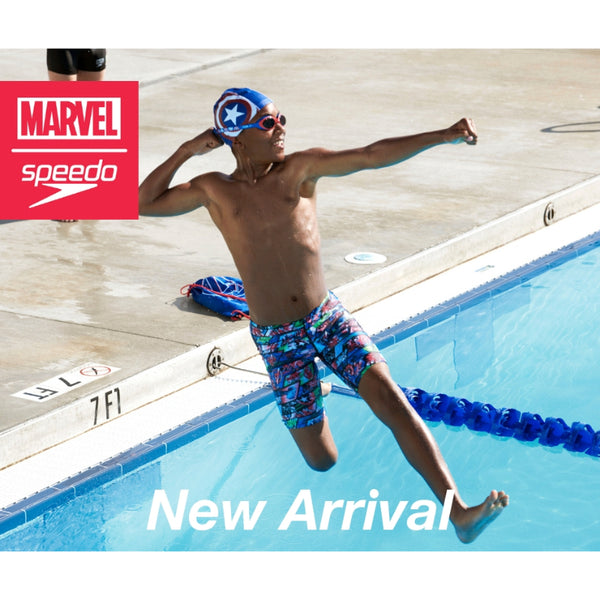 SPEEDO DISNEY CAPTAIN AMERICA ILLUSION GOGGLES