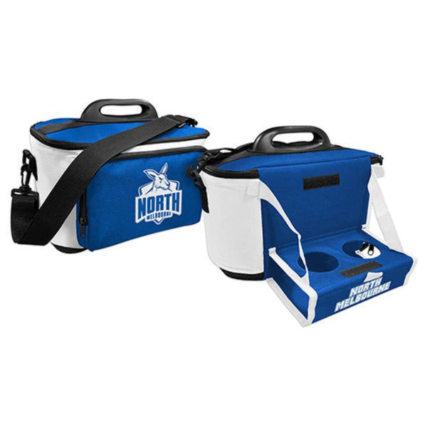 AFL COOLER BAG WITH TRAY NORTH MELBOURNE KANGAROOS