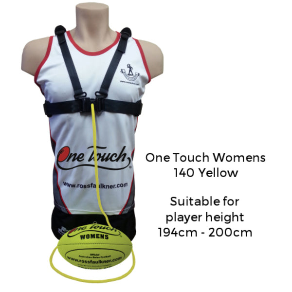 ROSS FAULKNER ONE TOUCH WOMENS (140 YELLOW)