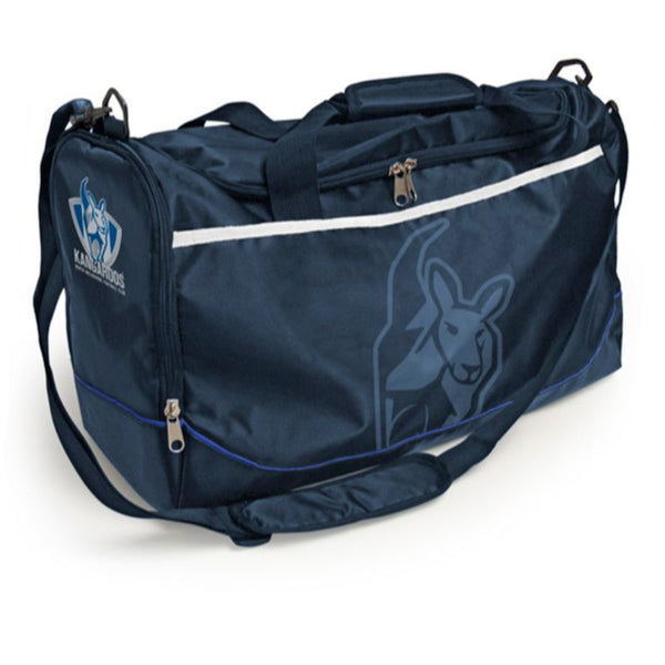 AFL SPORTS BAG NORTH MELBOURNE KANGAROOS