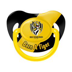 AFL BABY DUMMY RICHMOND TIGERS