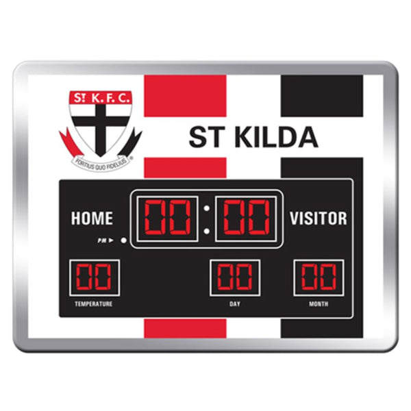 AFL SCOREBOARD CLOCK ST KILDA SAINTS