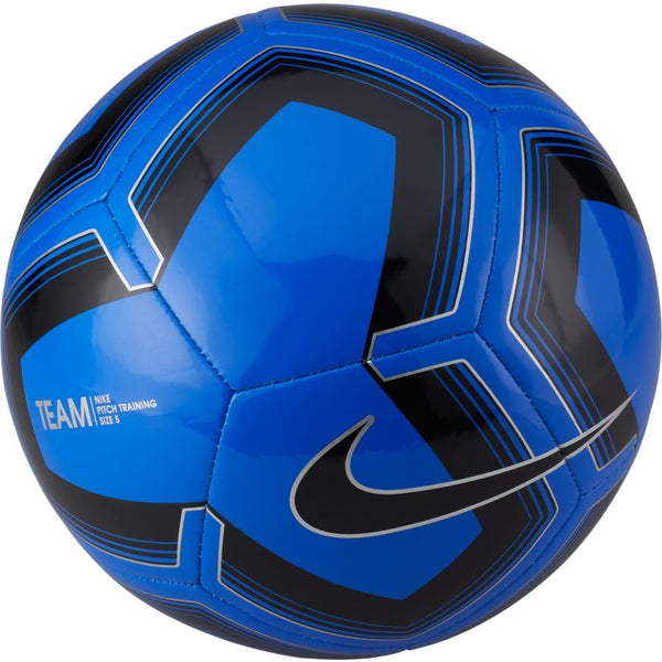 NIKE PITCH TRAINING SOCCER BALL RACER BLUE/SILVER