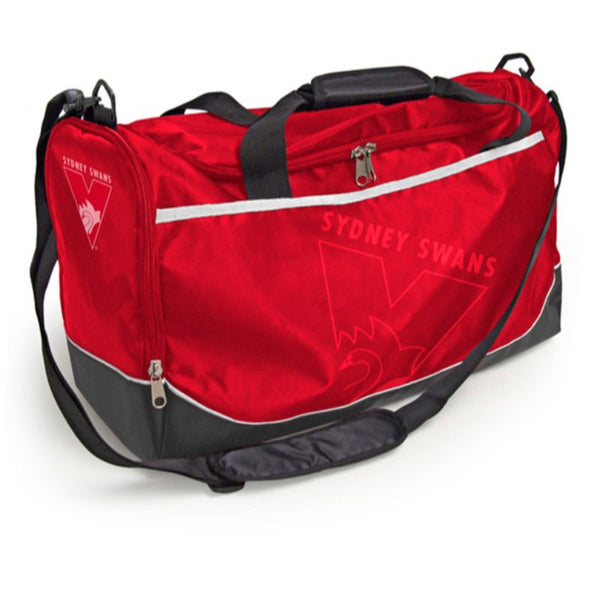 AFL SPORTS BAG SYDNEY SWANS