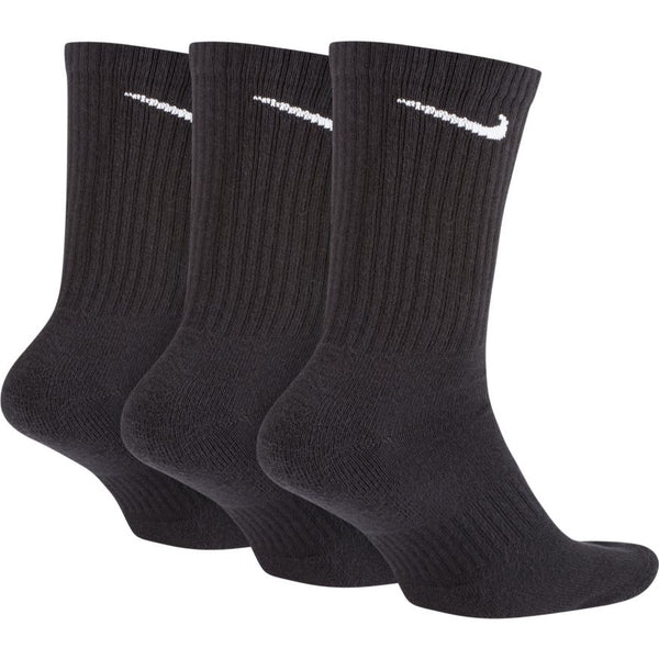 NIKE UNISEX EVERYDAY CUSHIONED CREW SOCK (3 PAIR)