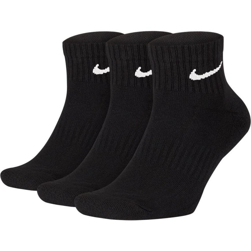 NIKE UNISEX EVERYDAY CUSHIONED ANKLE SOCK (3 PAIR)