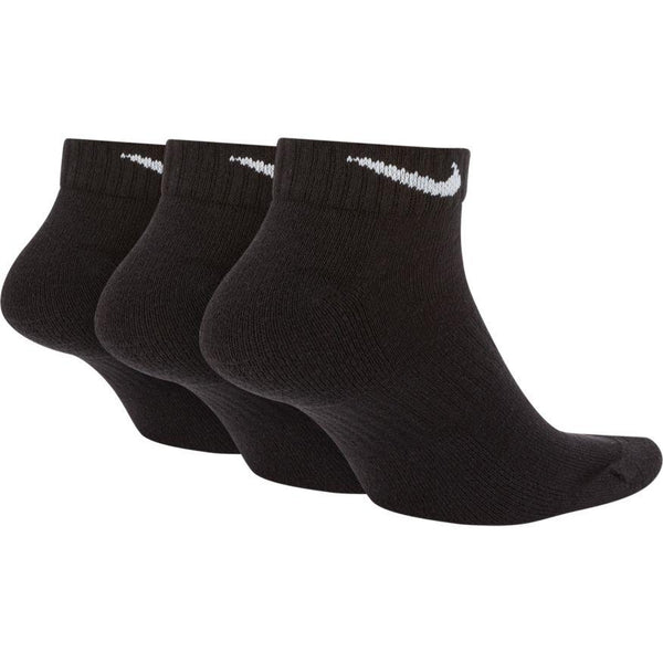 NIKE UNISEX EVERYDAY CUSHIONED LOW SOCK (3 PAIR)