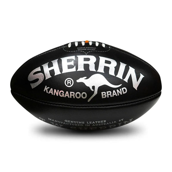 Sherrin KB Game Ball - Black - Size 5