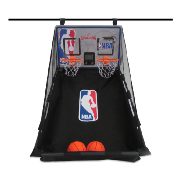 SPALDING NBA OVER THE DOOR DUAL SHOOTOUT SYSTEM
