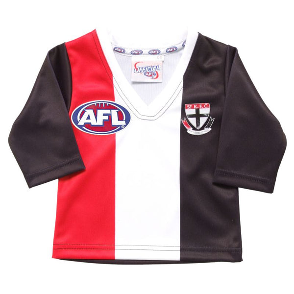 AFL REPLICA LONGSLEEVE TODDLER GUERNSEY ST KILDA SAINTS