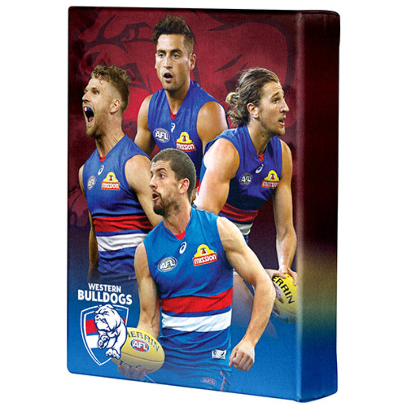 AFL PLAYER CANVAS WESTERN BULLDOGS