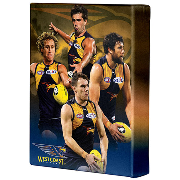 AFL PLAYER CANVAS WEST COAST EAGLES