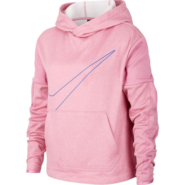 NIKE GIRLS THERMA GRAPHIC TRAINING HOODIE