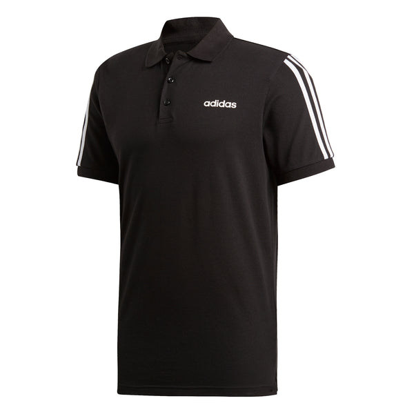 ADIDAS MENS 3 STRIPES POLO SHIRT