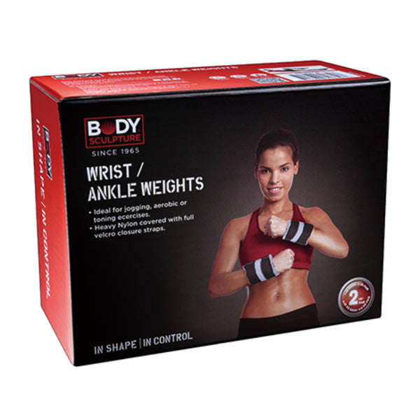 BODY SCULPTURE ANKLE WEIGHTS 5 POUND PAIR