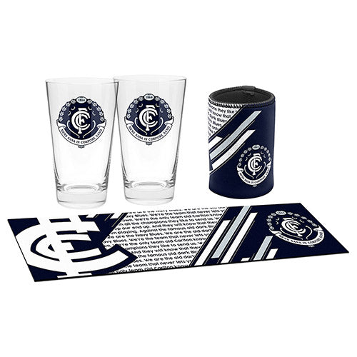 AFL BAR ESSENTIALS GIFT PACK CARLTON BLUES