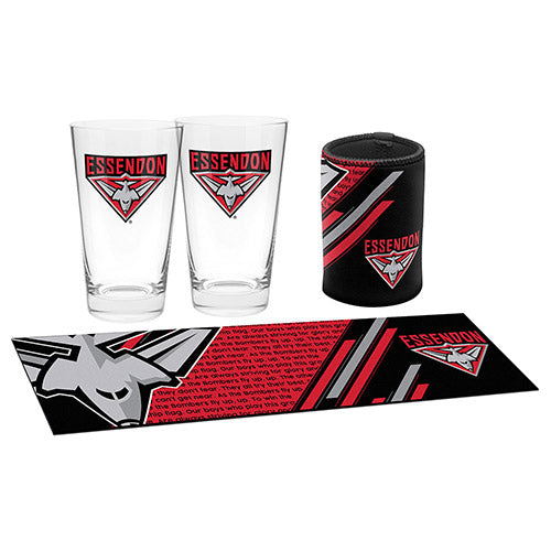 AFL BAR ESSENTIALS GIFT PACK ESSENDON BOMBERS