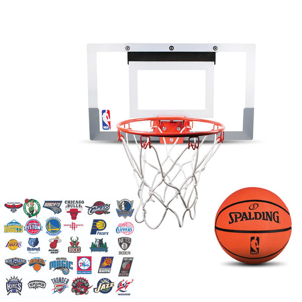 SPALDING NBA SLAM JAM TEAM EDITION MINI BACKBOARD