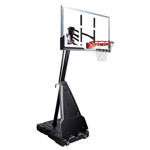 SPALDING NBA PORTABLE ACRYLIC BASKETBALL SYSTEM
