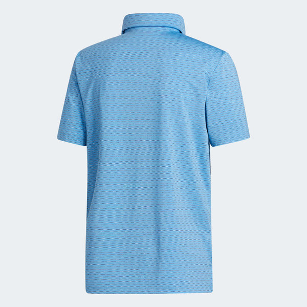 ADIDAS ULTIMATE 365 SPACE DYE STRIPE POLO