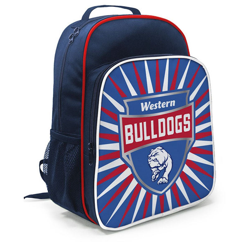 BURLEY AFL WESTERN BULLDOGS KIDS SHIELD BACKPACK