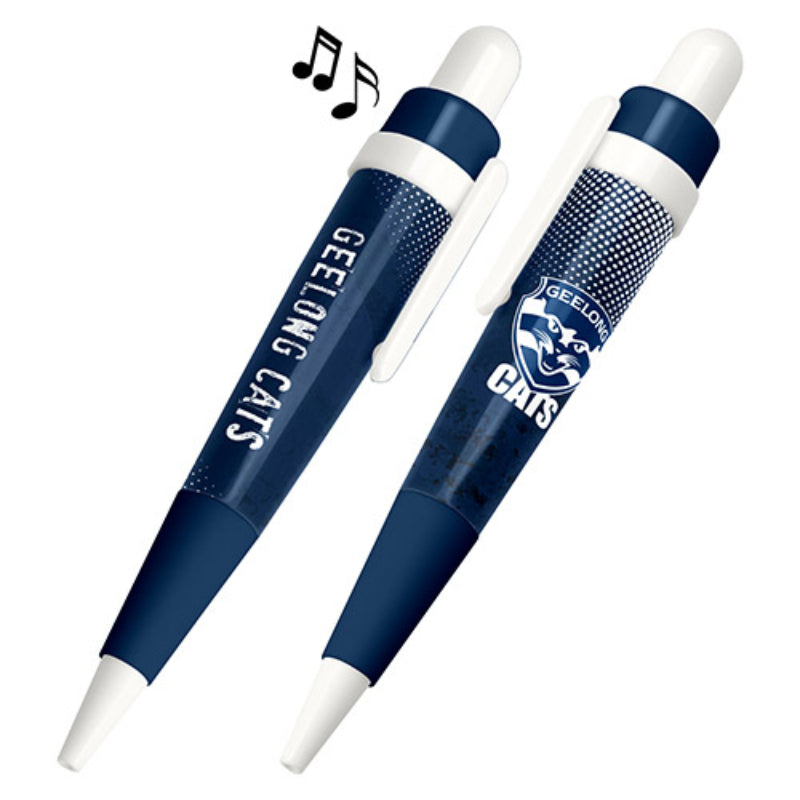 AFL MUSICAL PEN GEELONG CATS