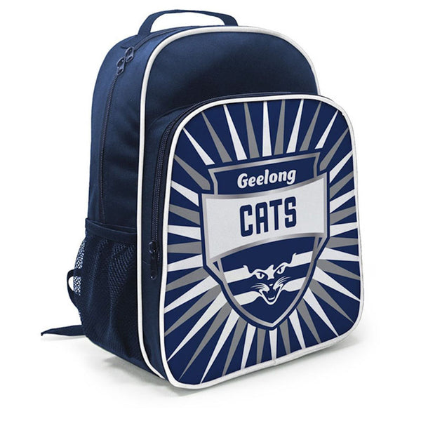 BURLEY AFL GEELONG CATS KIDS SHIELD BACKPACK