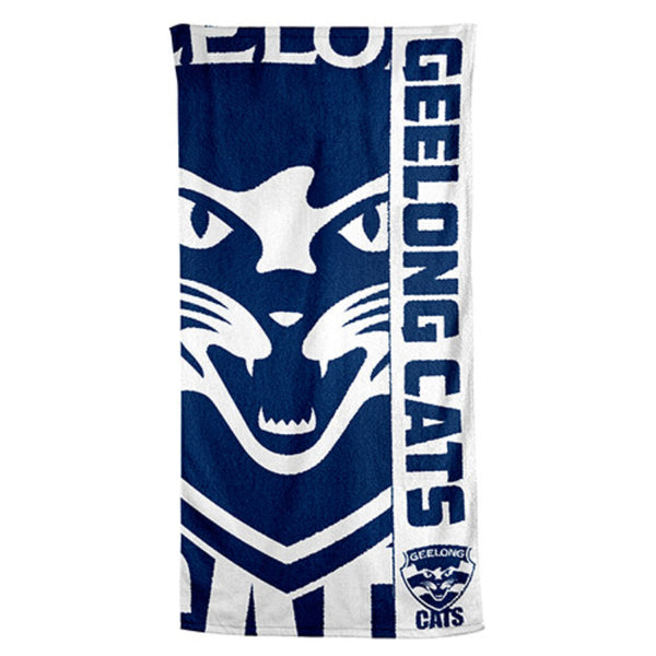 AFL BEACH TOWEL GEELONG CATS