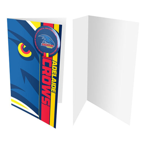 AFL BADGE CARD ADELAIDE CROWS