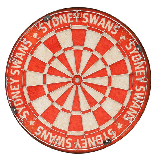 AFL DARTBOARD TEAM SYDNEY SWANS