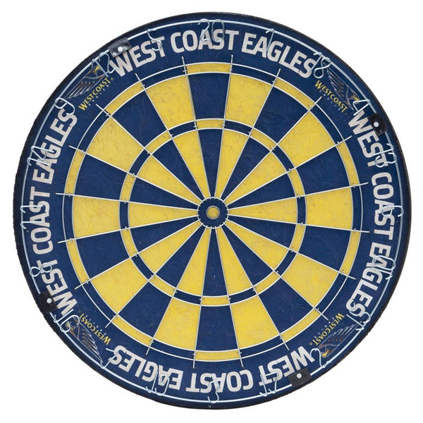 AFL DARTBOARD TEAM WEST COAST EAGLES